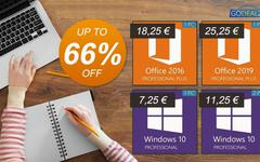 Bon plan Godeal24 : Windows 10 à seulement 7,25€ !